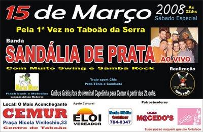 Baile – Sandália de Prata em Taboão da Serra