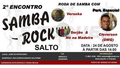 2º Encontro de Samba Rock em Salto