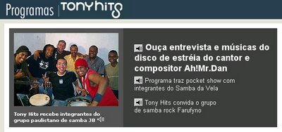 DJ's: Tony Hits – O Embaixador do Samba Rock – Parte 2