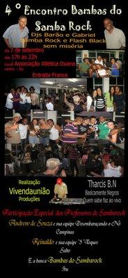 Bambas do Samba Rock em Itú