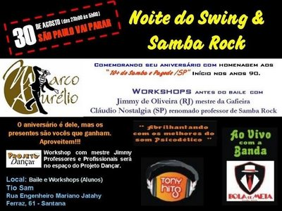 Grande Festa do Swing e Samba Rock
