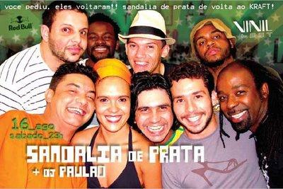 Sandália de Prata e DJ Paulão na Kraft em Campinas
