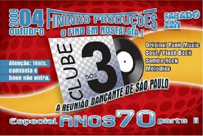 Clube dos 30 Especial Anos 70