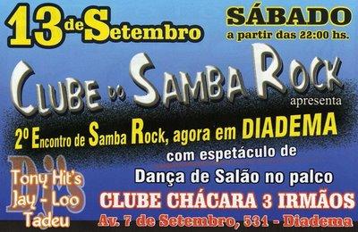 Clube do Samba Rock em Diadema