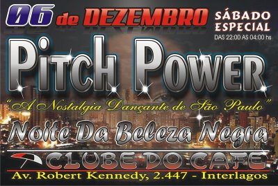 Pitch Power no Clube Cafe