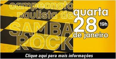 Vem aí o Campeonato Paulista de Samba Rock