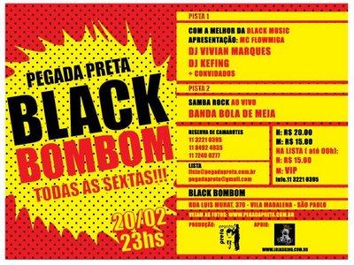 Opções para o Carnaval: Black Bombom