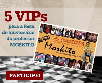 VIPs Samba Rock Na Veia: Aniversário do professor Moskito