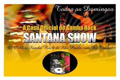 E as domingueiras no Santana Show não param!
