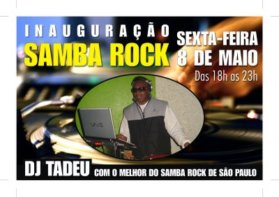 DJ Tadeu no Largo do Paissandú