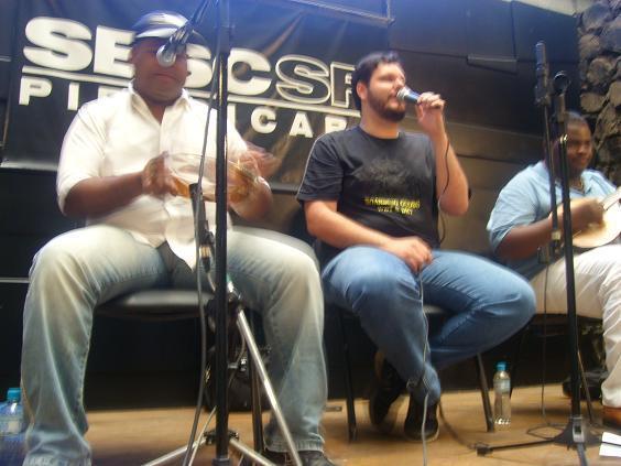 Cantores e bandas: Cambaio mostra que samba rock é mistura!