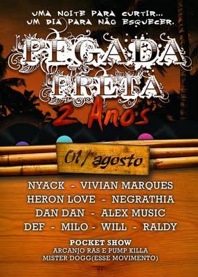 Pegada Preta faz 2 anos com samba rock na comemoração