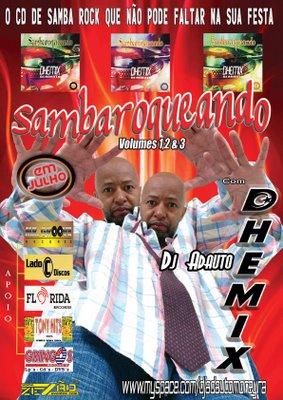 Lançamento da coleção Sambaroqueando do DJ Adauto Dhemix
