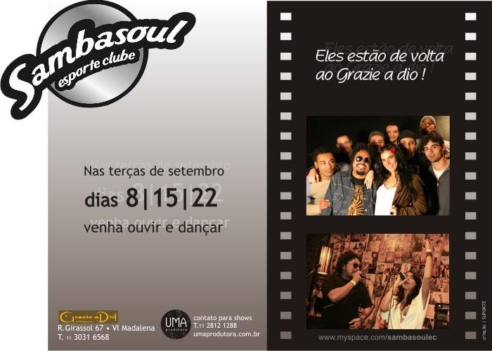 Samba Soul Esporte Clube de volta!