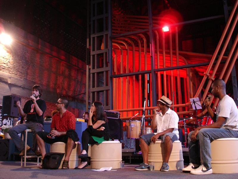 Debate sobre samba rock na Pílula de Cultura