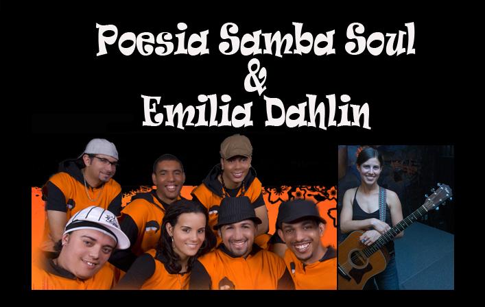 Poesia Samba Soul & Emilia Dahlin no CEU Casa Blanca