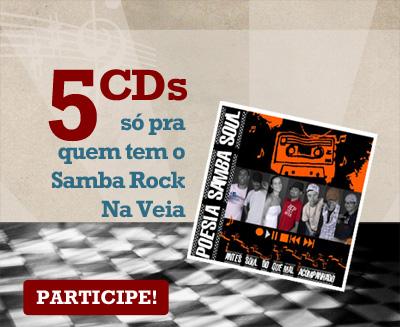 5 CDs da banda Poesia Samba Soul – 1º CD sorteado