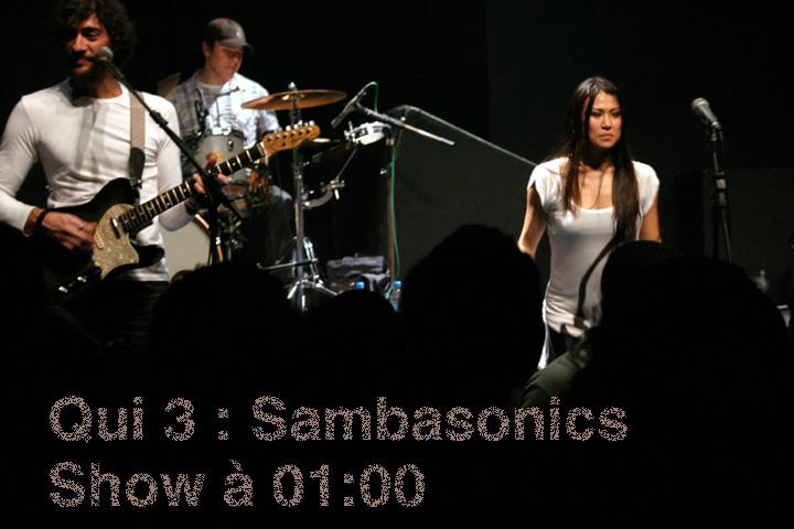 A Elite do Samba Rock no Mars: Sambasonics