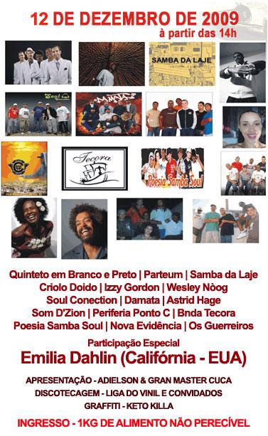 Samba rock no VI Festival de Música do Jardim Jangadeiro