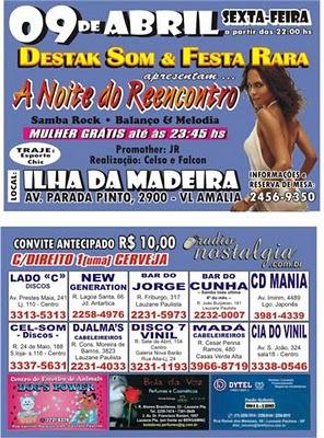 A Noite do Reencontro no Ilha da Madeira