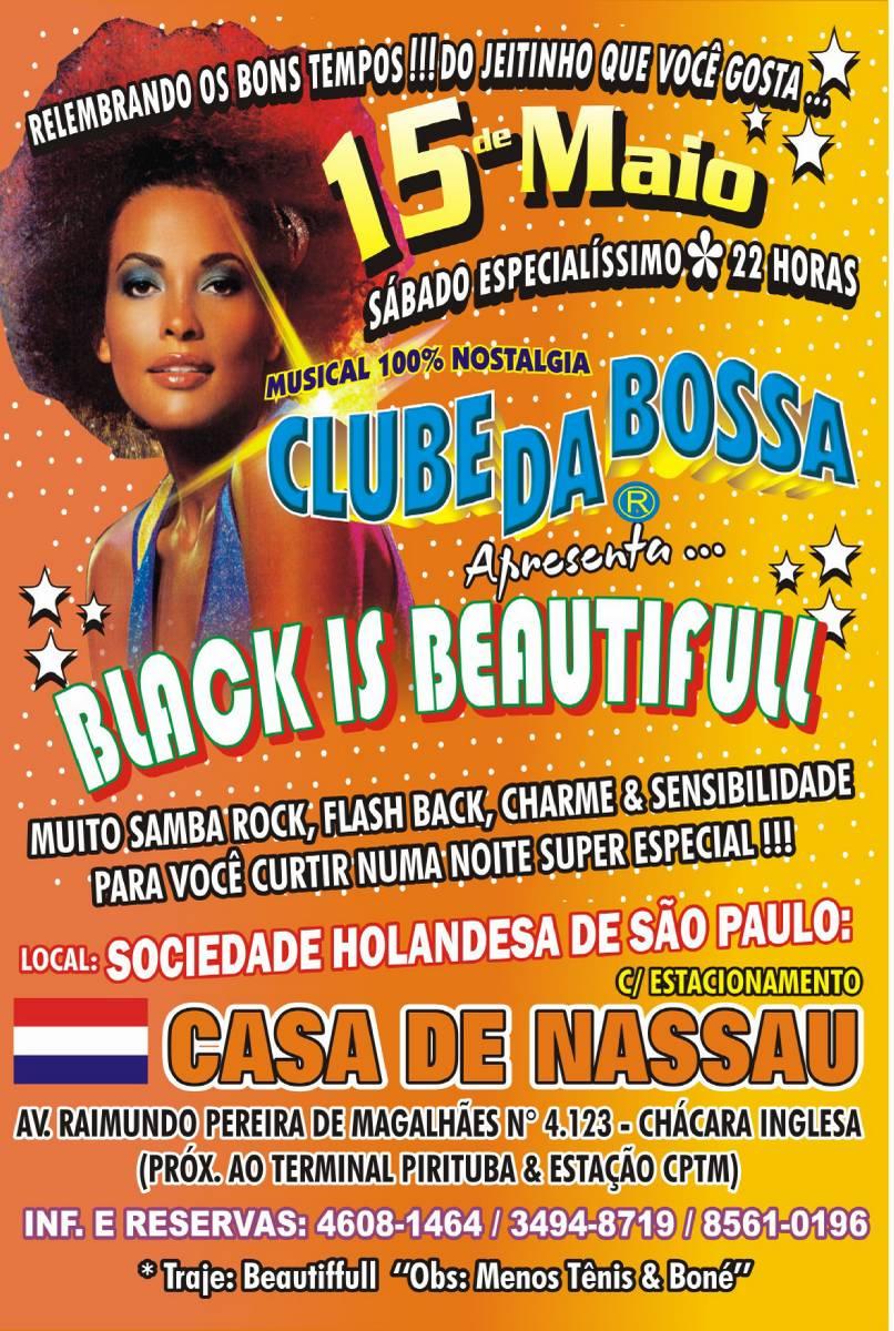 Sábado tem samba rock com Clube da Bossa