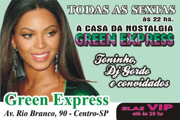Green Express tem samba rock toda sexta