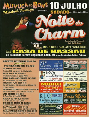 Noite do Charm na Casa de Nassau