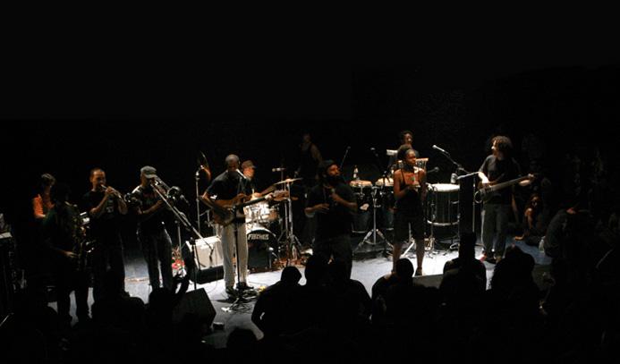 Pacotão de shows de samba rock no fim de semana