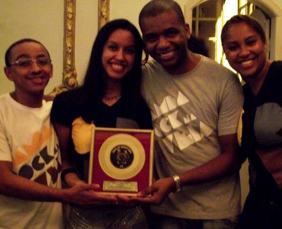 Samba Rock Na Veia na Premiação de Professores e Sites de Samba Rock