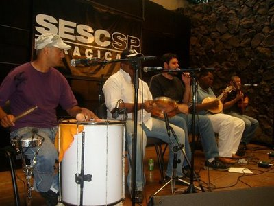 Samba rock no SESC com a banda Cambaio