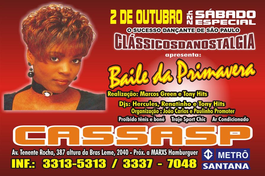 """Clássicos da Nostalgia – """"Baile da Primavera"""""""