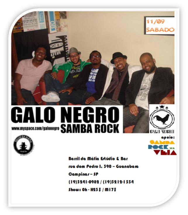 Samba rock com Galo Negro em Campinas