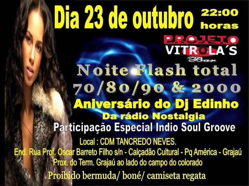 Projeto Vitrola's Bar – Noite Flash Total