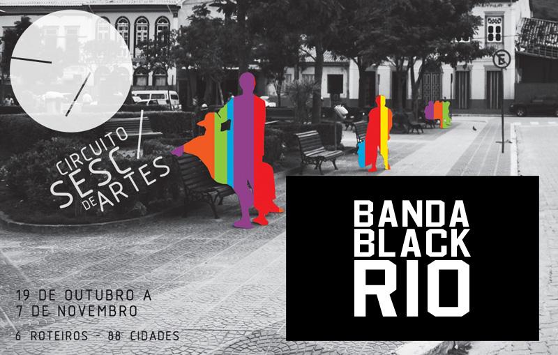 Circuito SESC com a Banda Black Rio