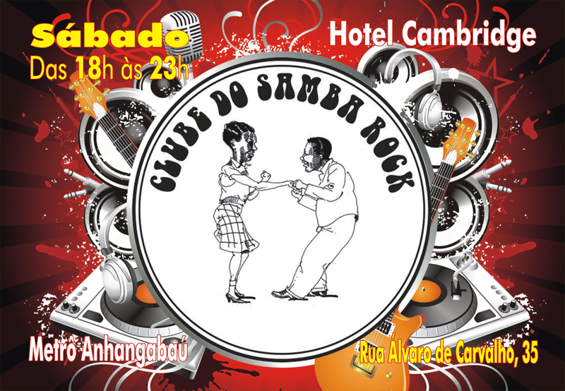Clube do Samba Rock no Cambridge aos sábados