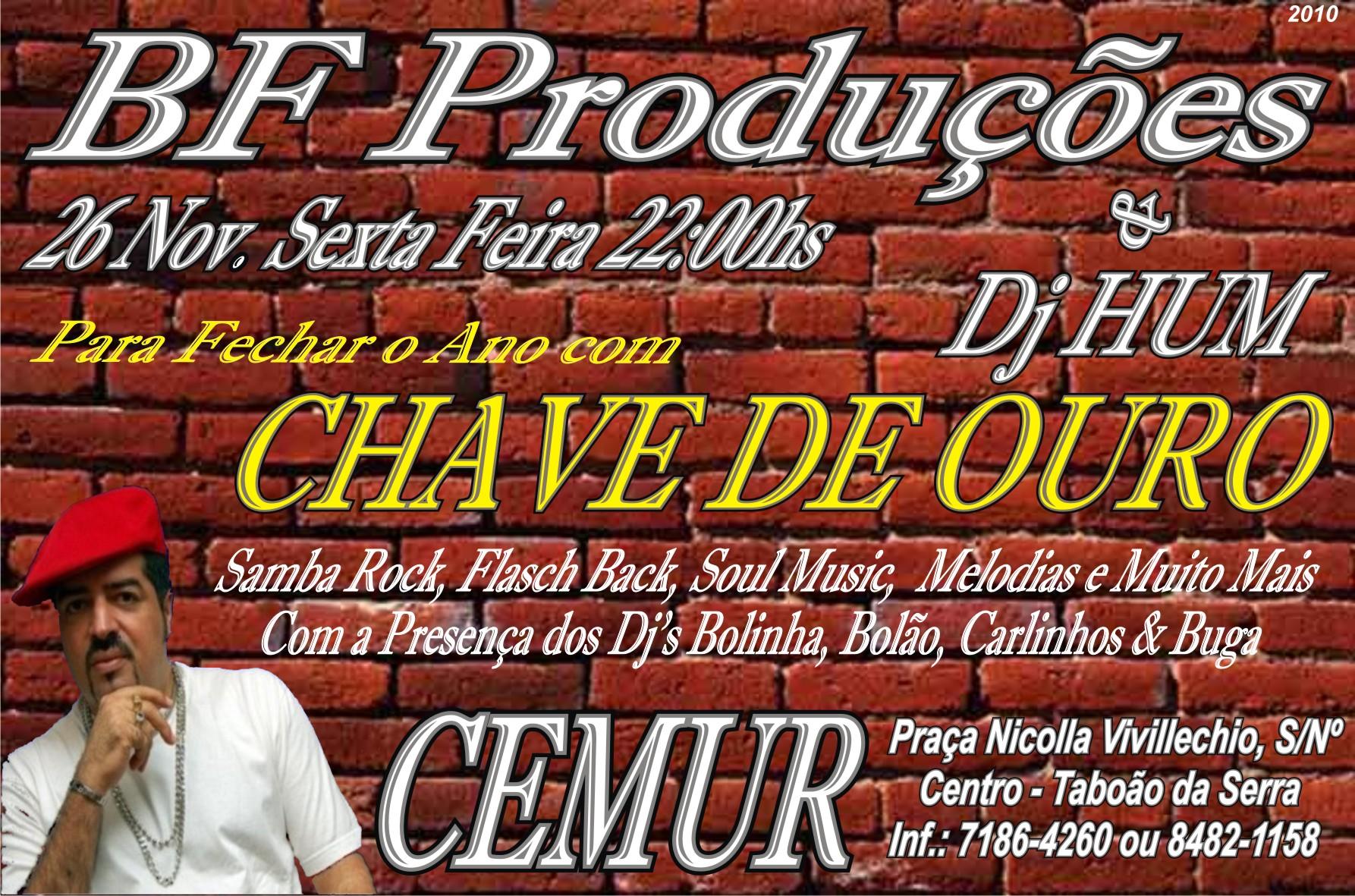 Muito samba rock com Dj Hum no Cemur