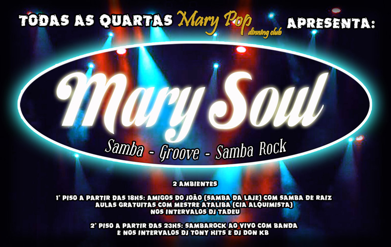 Mary Pop com samba rock em grande estilo