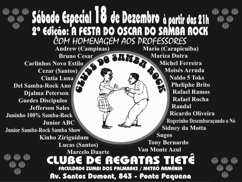 Festa do Oscar do Samba Rock – 2ª edição