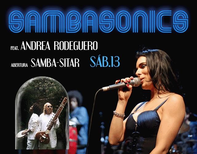 Teatro Mars: No sábado tem Sambasonics
