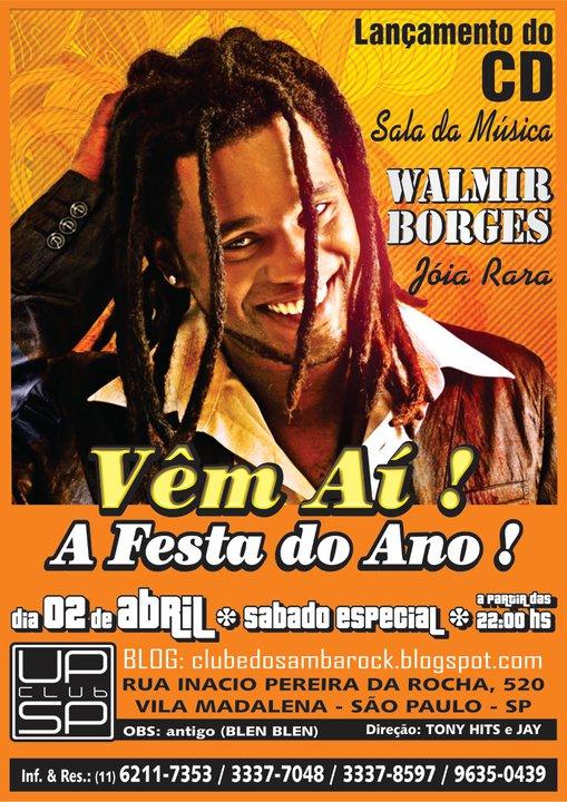 Walmir Borges lança novo álbum em show