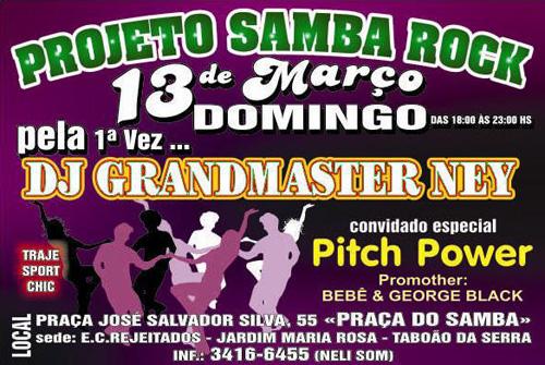 Samba rock em Taboão da Serra
