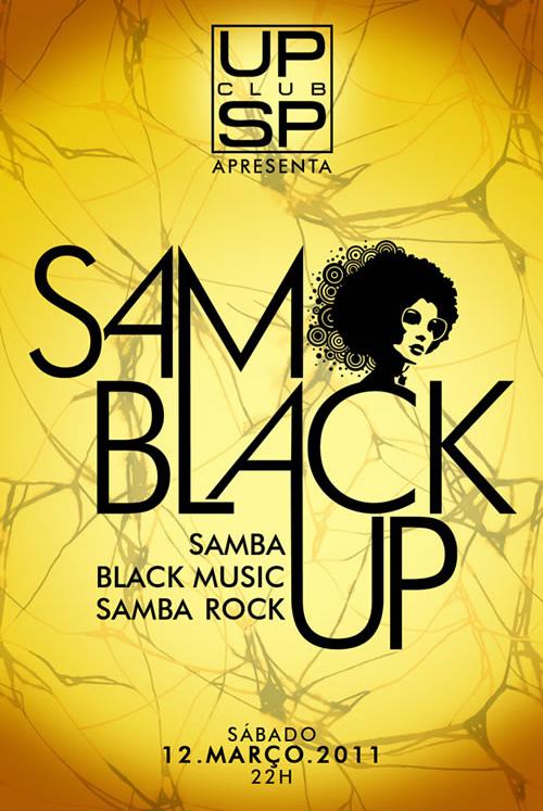 SamBlackUp com samba rock na mistura