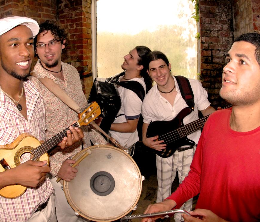 Quinteto Dona Zaíra canta Jackson do Pandeiro