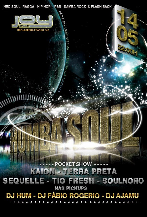 Humba Soul vem de hip hop, R&B e samba rock