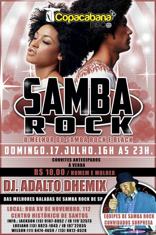 Domingo é dia de samba rock em Santos