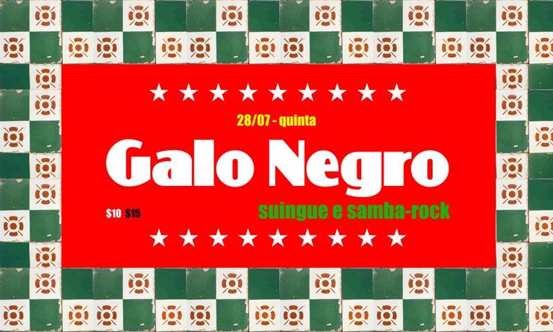 Casa São Jorge comemora 9 anos com banda Galo Negro