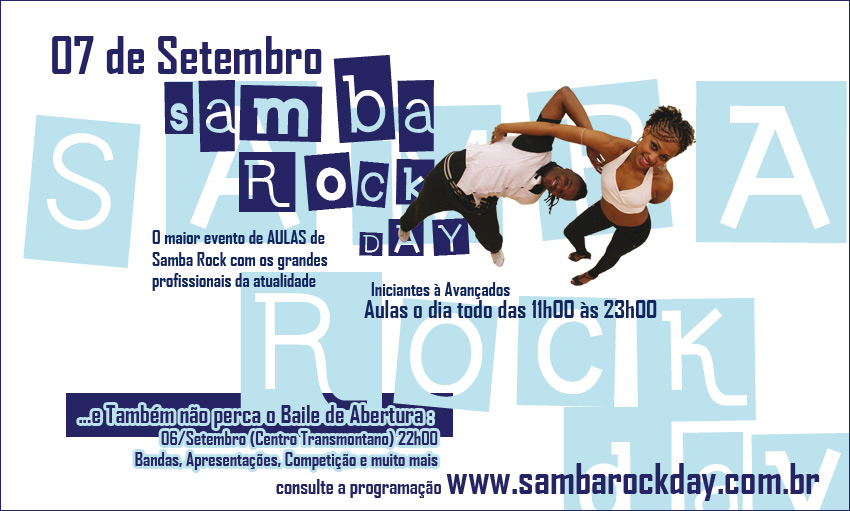 Samba Rock Day 2011 – Preparem-se!!!