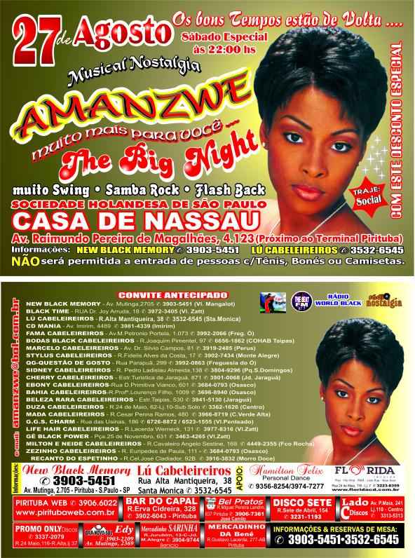 """""""The Big Night"""" com Musical Nostalgia Amanzwe"""