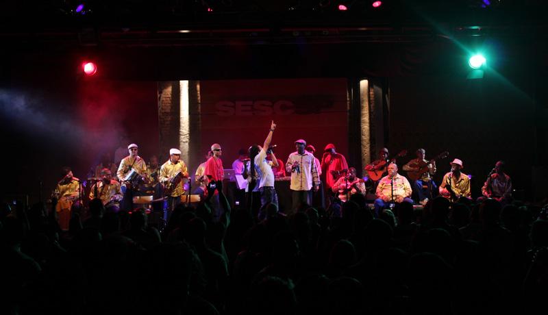 Fotos   Berço do Samba de São Mateus no SESC Pompéia