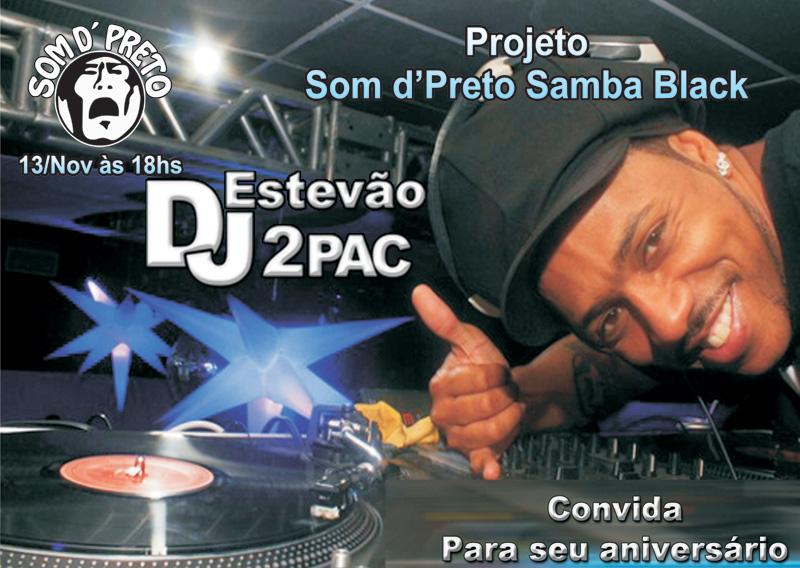 Projeto Som d'Preto Samba Black com samba rock